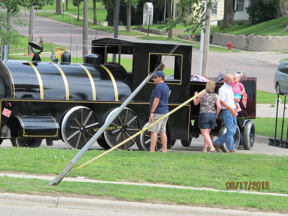 Truck to Parade Train